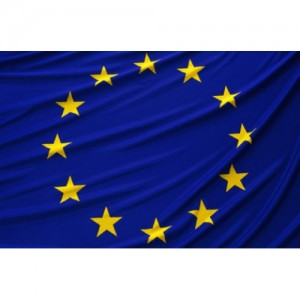 Знаме на Европейския Съюз с шити звезди 90/150см.