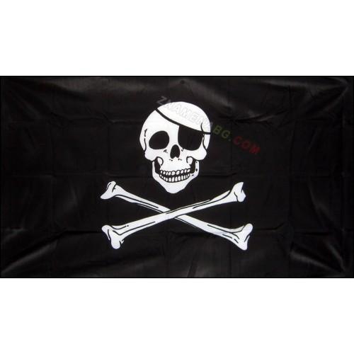 Пиратско знаме с череп 60/90см.
