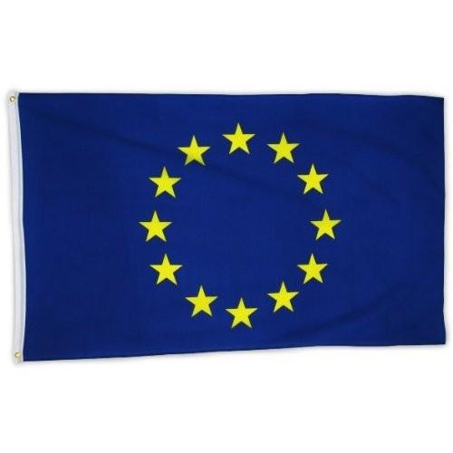 Знаме на Европейския Съюз с бродирани звезди 90/150см.