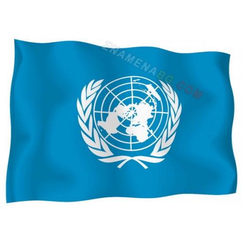 Знаме на ООН 90/150см.
