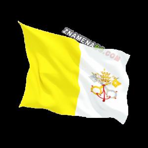 Знаме на Ватикана 90/150 см.