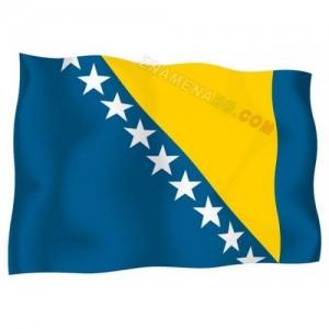 Знаме на Босна и Херцеговина 90/150 см.
