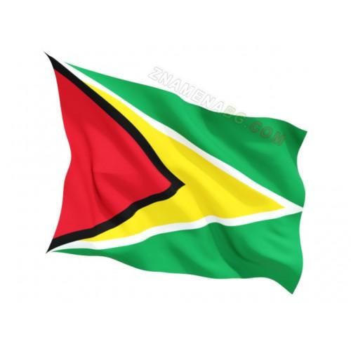 Знаме на Гвиана 90/150 см.