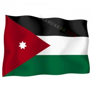 Знаме на Йордания 90/150 см.