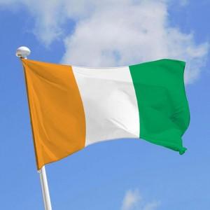 Знаме на Кот д'Ивоар 90/150 см.