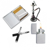 Електронни цигари, наргилета, табакери и запалки (0)
