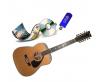 Музикални инструменти, дискове, филми