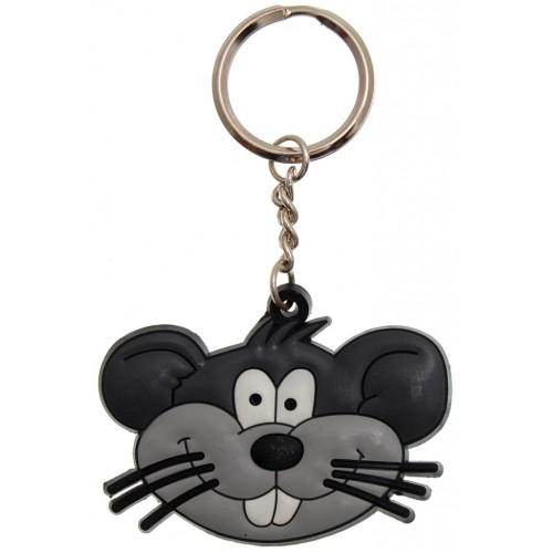 Гумен ключодържател - мишка