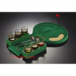 Голф игра с чашки - игра за напиване