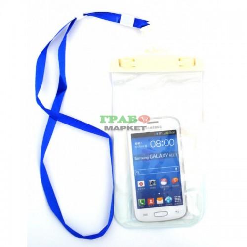 643af0cec92 Универсален водоустойчив калъф за телефон, плеър или фотоапарат ...