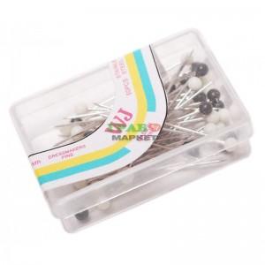 Карфици с пластмасови глави - 50 бр