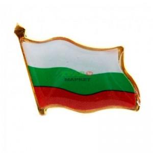 Значка - български трикольор