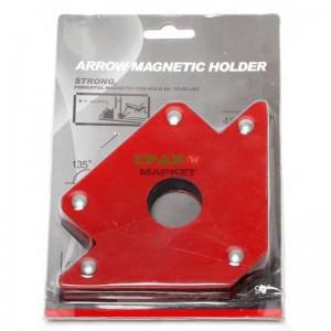 Магнитен ъгъл за заваряване на тръби или метални листове