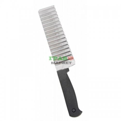 Домакински нож за рязане на кашкавал с ергономична дръжка