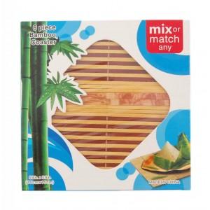 Бамбукови подложки за чаши и горещи съдове