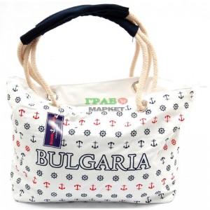 Плажна дамска чанта