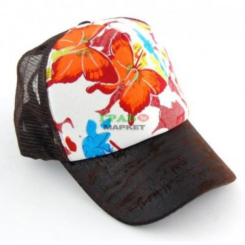 Спортна лятна шапка с козирка