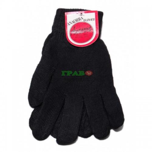 Плетени зимни ръкавици с еластичен маншет