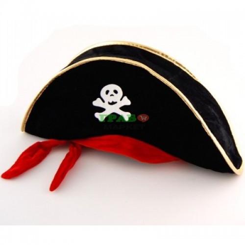 Пиратска карнавална шапка