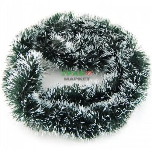 Коледна украса - класически зелен гирлянд