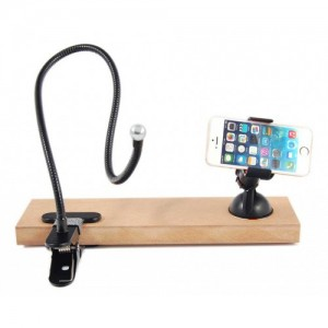 Универсална поставка за телефон с вакуум