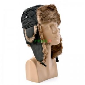 Зимна шапка с ушанки - тип калпак