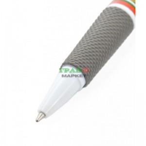 Сувенирен химикал с бутон за включване, клипс и PVC корпус