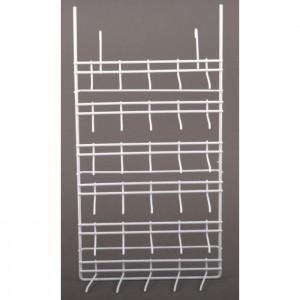 Шестредов метален стелаж за стена