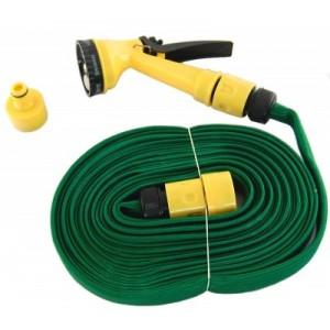 Градински маркуч - 15м. с PVC накрайник за поливане