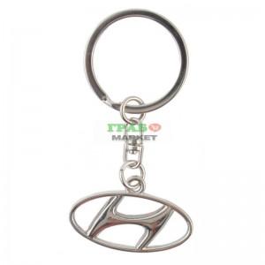 Автомобилен ключодържател на Hyundai (метален)