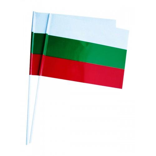 Българско знаменце от хартия 16 х 22 см
